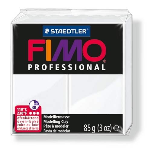 Fimoklei professional wit. nr. 0.