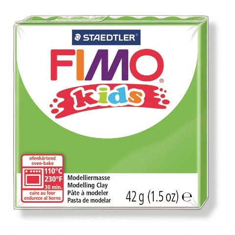 Fimo klei Kids lime. nr. 51.