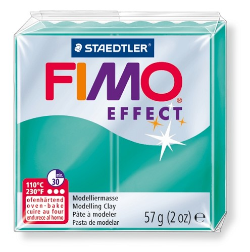 Fimo effect transparant groen nr. 504.