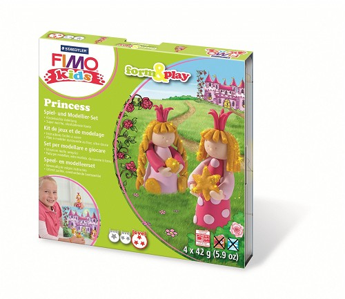 Fimo kids form & play Prinses.