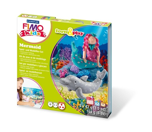 Fimo kids form & play zeemeermin.