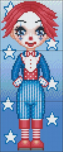 Pixelhobby Clown Louis 3 Basisplaten