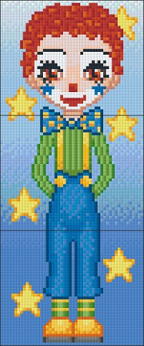 Pixelhobby Clown Pjotr 3 Basisplaten