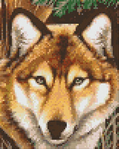 Pixelhobby The Wolf 4 basisplaten.