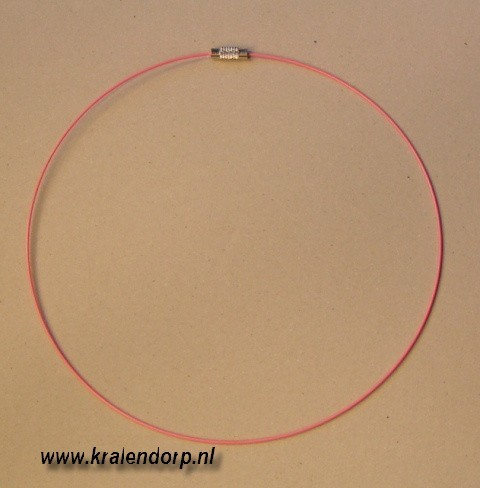 Spang 45cm baby roze.