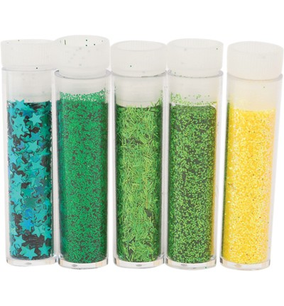 Glitter set caribean.
