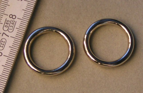 Zilveren ring type 2.