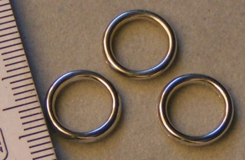 Zilveren ring type 3.