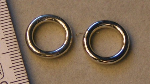 Zilveren ring type 4.