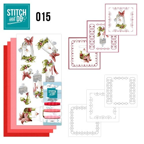 Borduursetjes Stitch and Do 15 - Kaarsen.