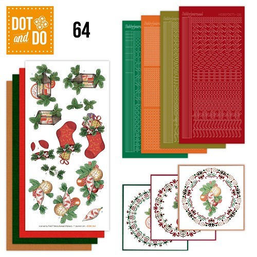 Hobbydots set Dot and Do 64 - Christmas.