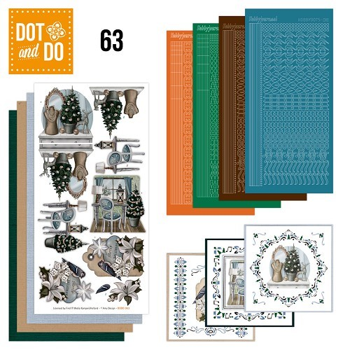 Hobbydots set Dot and Do 63 - Brocante Kerst.