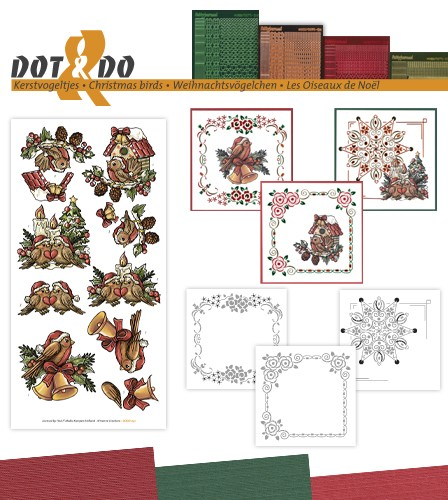Dot and Do 41 - kerstvogeltjes.