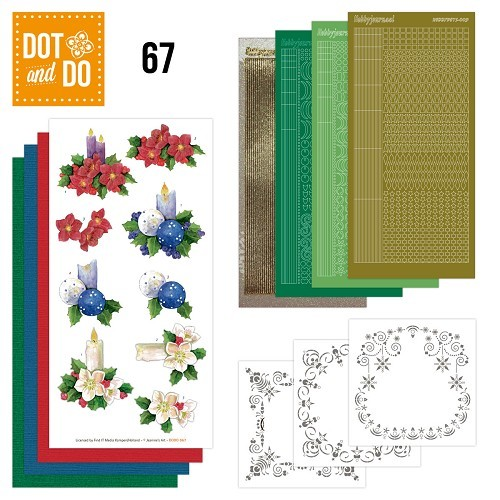 Dot and Do 67 - Christmas Candles.