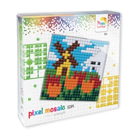 Pixelhobby XL set Hollandse molen.
