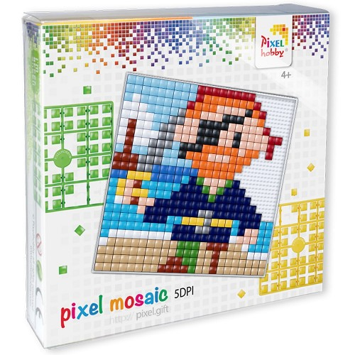 Pixelhobby XL set piraat.