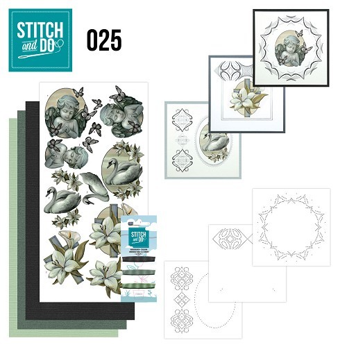 Borduursetje Stitch and Do 25 - Condoleance.