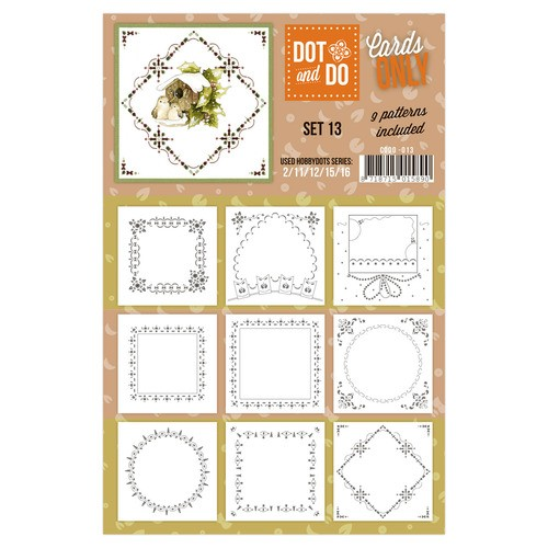 Dot & Do - Cards Only - Set 13.