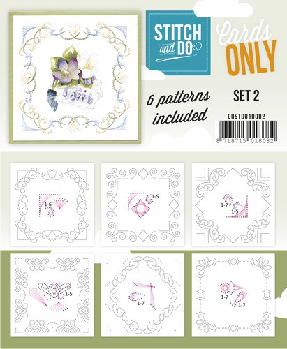 Stitch & Do - Cards only - Set 2.
