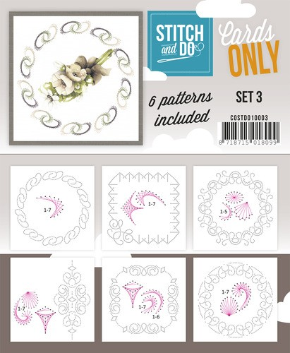 Stitch & Do - Cards only - Set 3.