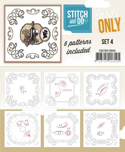 Stitch & Do - Cards only - Set 4.