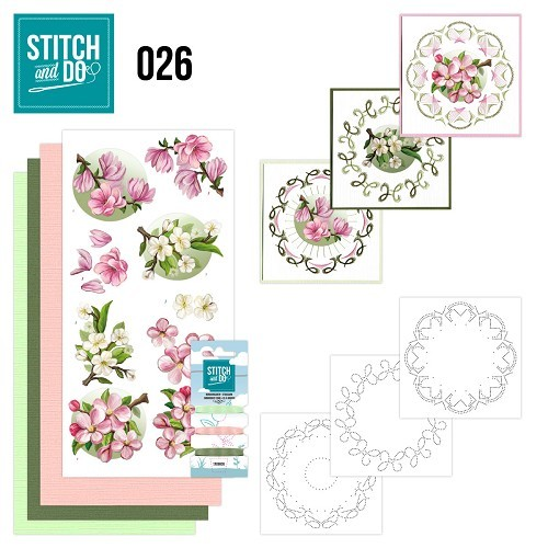 Stitch and Do 26 - Spring Flowers.