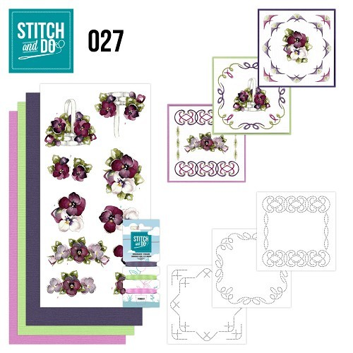 Stitch and Do 27 - Flowers.