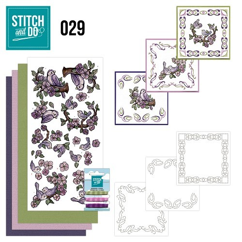 Stitch and Do 29 - Birds