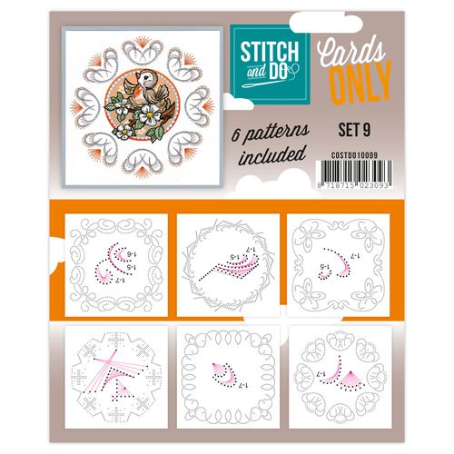 Stitch & Do - Cards only - Set 9.