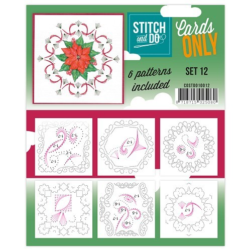 Stitch & Do - Cards only - Set 12.