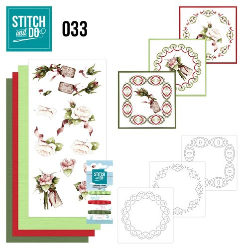 Stitch and Do 33 - Roses.