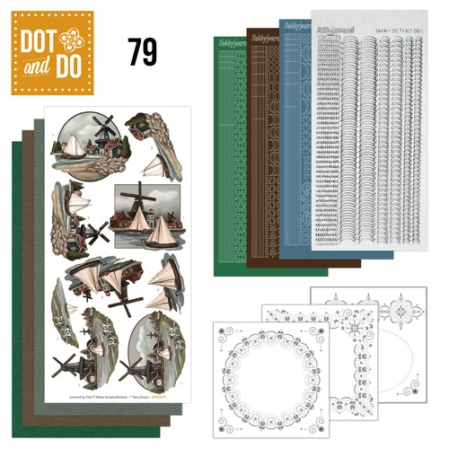 Hobbydots setje Dot and Do 79 - Oud Hollands.
