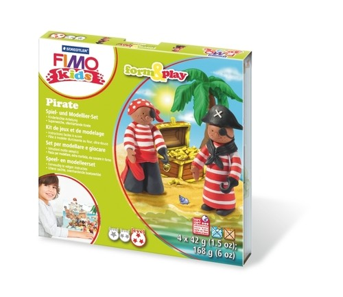Fimo kids form & play piraat.