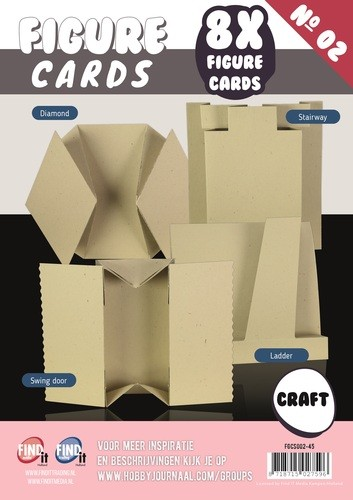 Boek Figure Cards 2 - Craft.