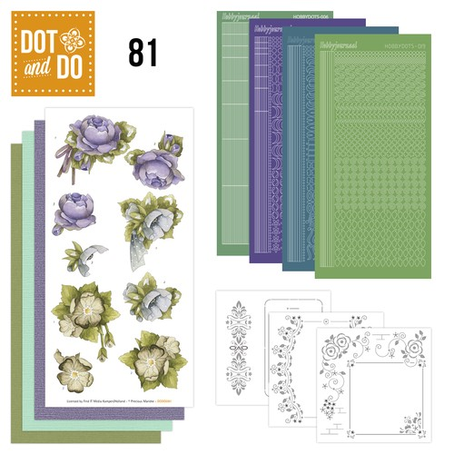 Hobbydots Dot and Do 81 - Floral Corner.
