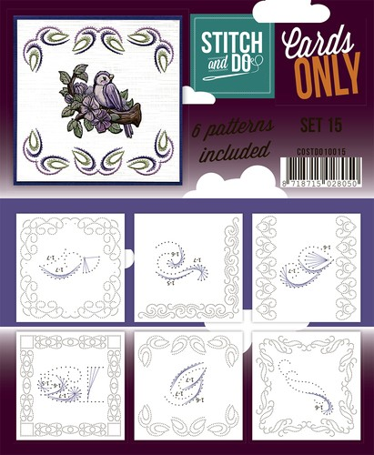 Stitch & Do - Cards only - Set 15.