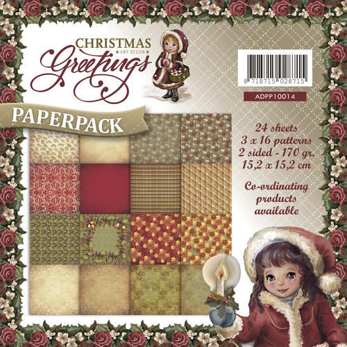 Paperpack - Amy Design - Christmas Greetings.
