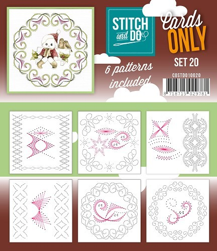 Stitch & Do - Cards only - Set 20.