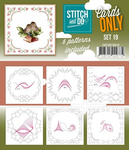 Stitch & Do - Cards only - Set 19.