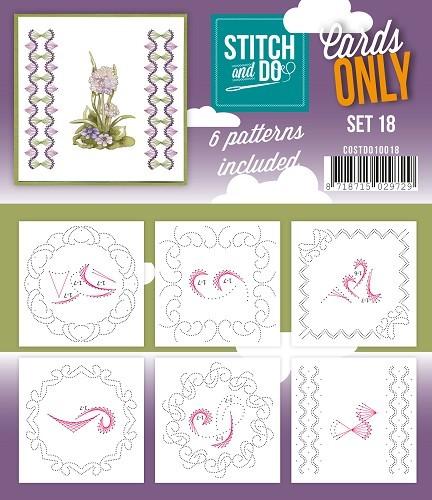 Stitch & Do - Cards only - Set 18.