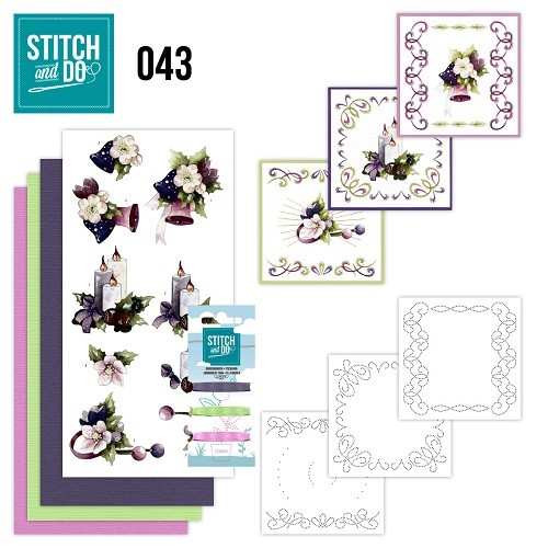Stitch and Do 43 - Purple Colored Christmas.