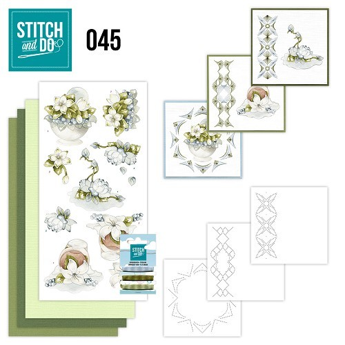 Stitch and Do 45 - Winterflowers.