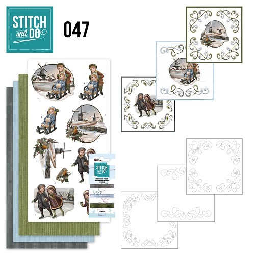 Stitch and Do 47 - Winterglow.