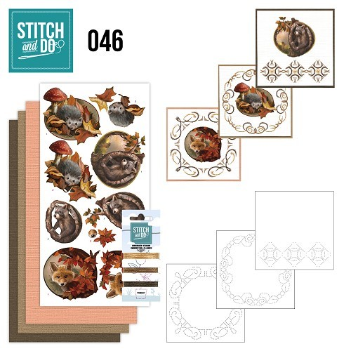 Stitch and Do 46 - Autumn.