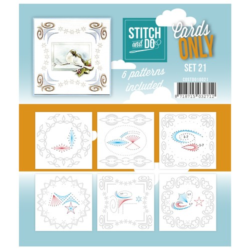 Stitch & Do - Cards only - Set 21.