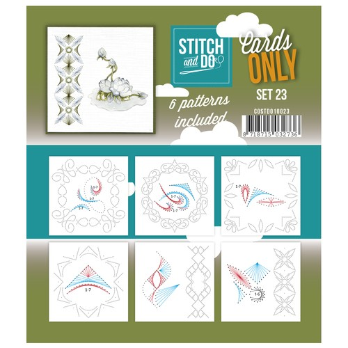 Stitch & Do - Cards only - Set 23.