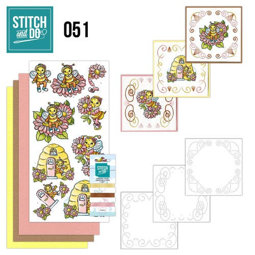Stitch and Do 51 - Bijtjes.