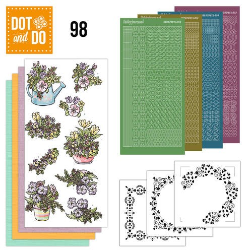 Dot and Do 98 - Voorjaarsboeketjes.