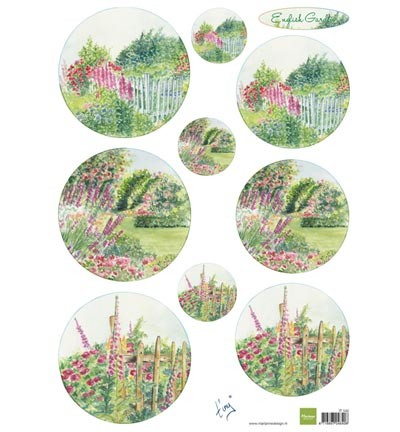 Marianne Design Tiny`s English garden - Roses