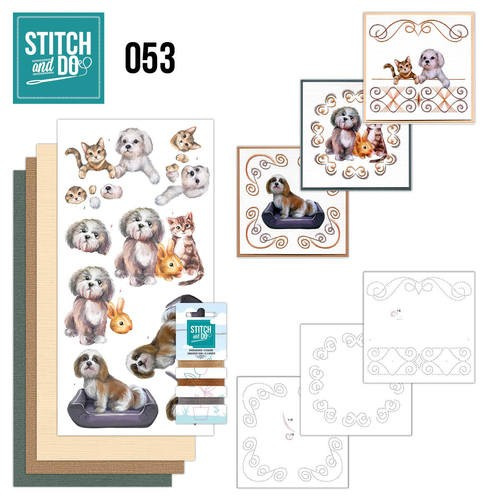 Stitch and Do 53 - Huisdieren.